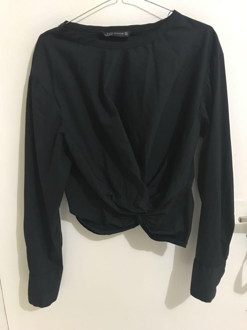 Blouse Zara size S semi crop