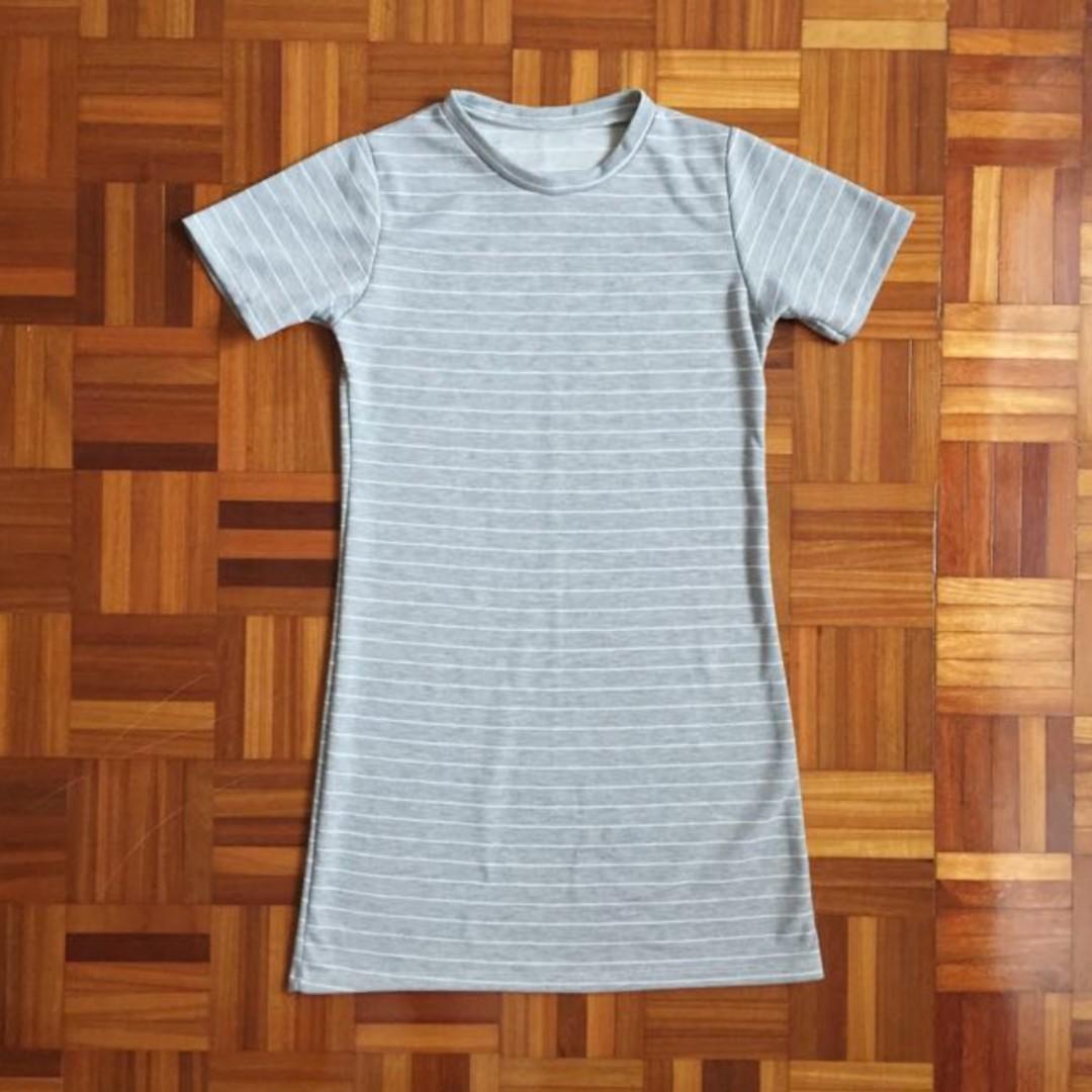 [BN] mock neck dress