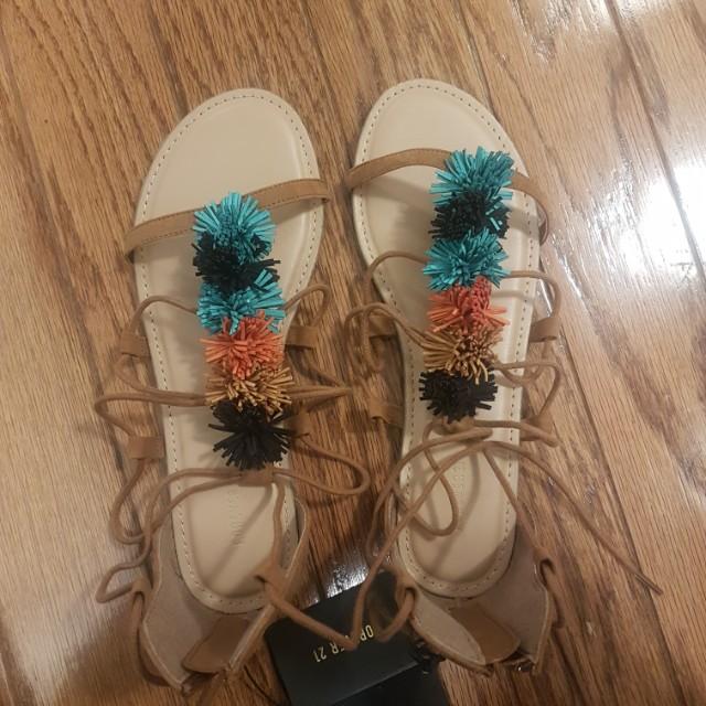 BNWT cute gladiator sandals