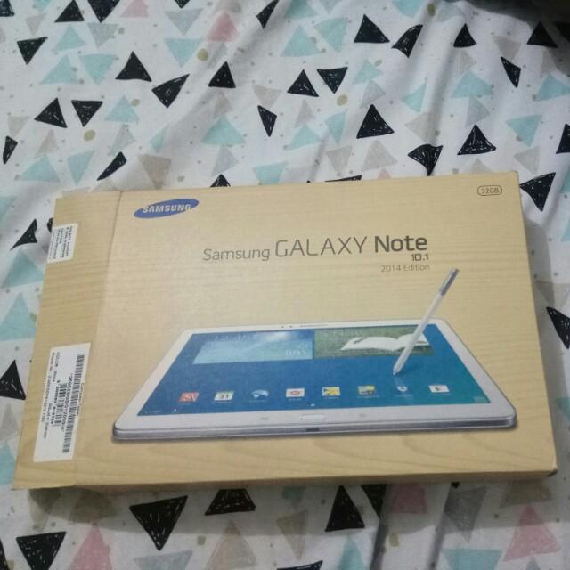 Box bekas Samsung galaxy note