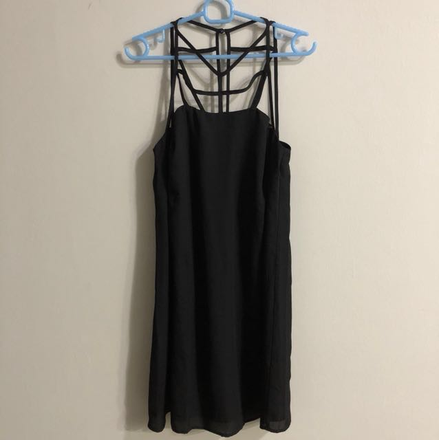 Brand new Zalora caged cut out dress