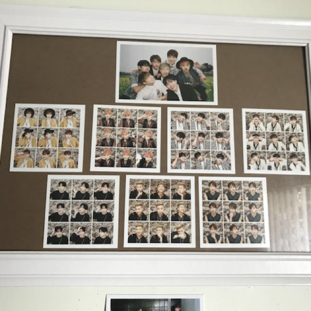 BTS HYYH Pt 1 Photocards
