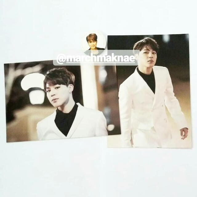 BTS ON STAGE: EPILOGUE OFFICIAL PHOTO & PIN BUTTON (JIMIN)
