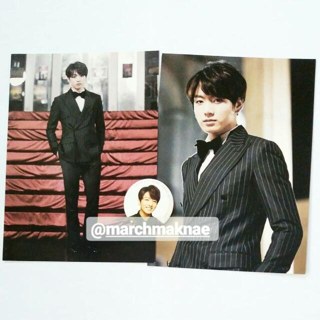 BTS ON STAGE: EPILOGUE OFFICIAL PHOTO & PIN BUTTON (JUNGKOOK)