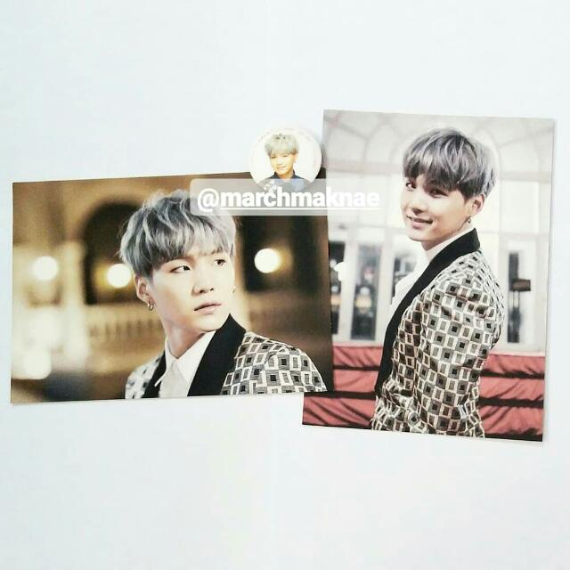 BTS ON STAGE: EPILOGUE OFFICIAL PHOTO & PIN BUTTON (SUGA)