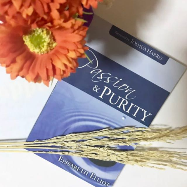 Christian Book Passion and Purity by Elisabeth Elliot OMF Literature