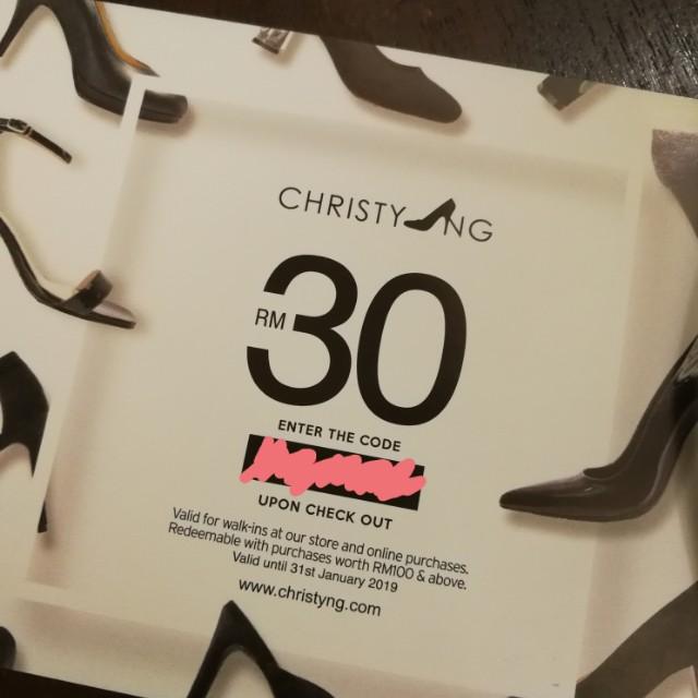 Christy Ng voucher