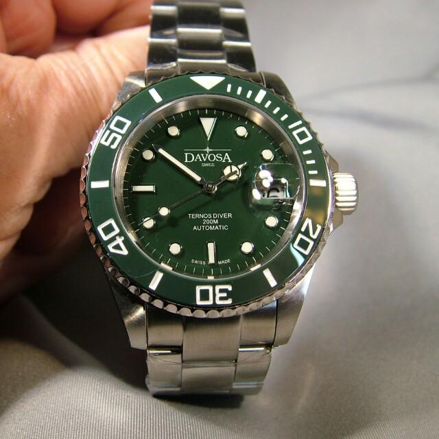 3cb331e6b Davosa Ternos Hulk ceramic, Men's Fashion, Watches on Carousell