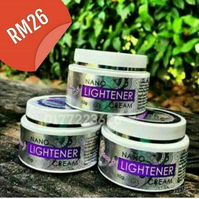 Dianz nano lightener cream (krim pemutih ketiak)
