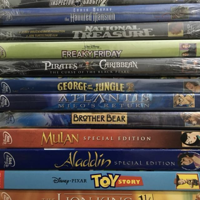 Disney DVDs - Original, sealed (sold separately) on Carousell