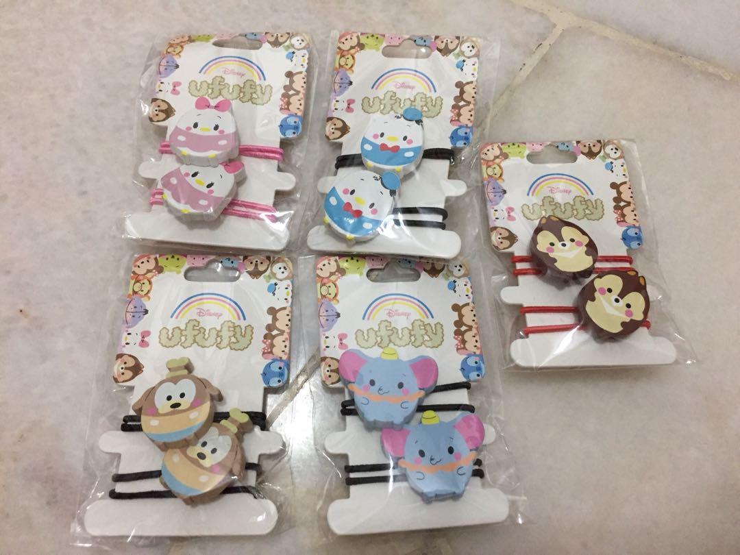 Disney Tsum Tsum hairtie set
