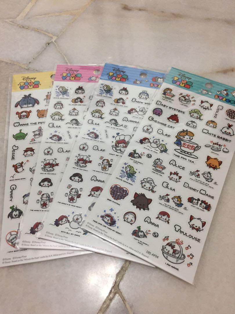 Disney tsum tsum sticker