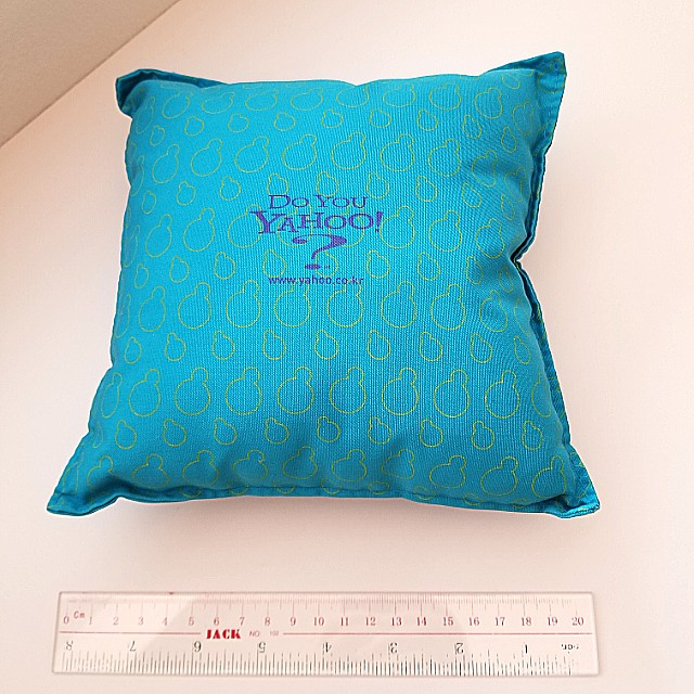 Do You Yahoo? Official Branded Pillow Cushion