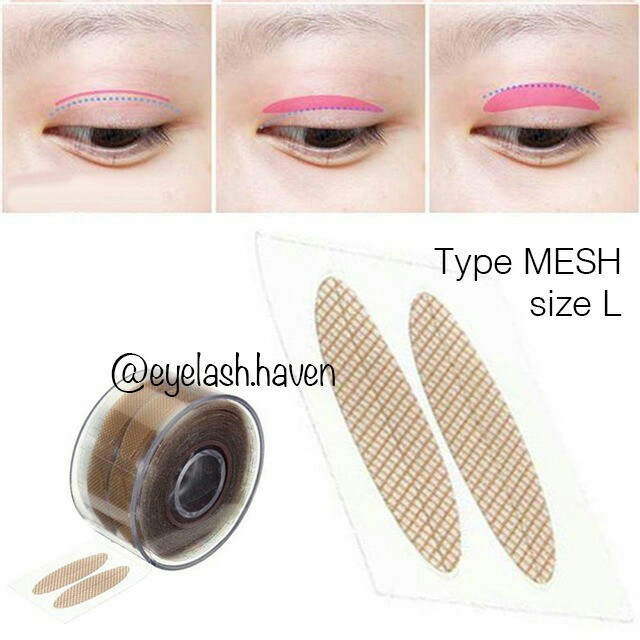 Double Eyelid Tape, type: MESH size L