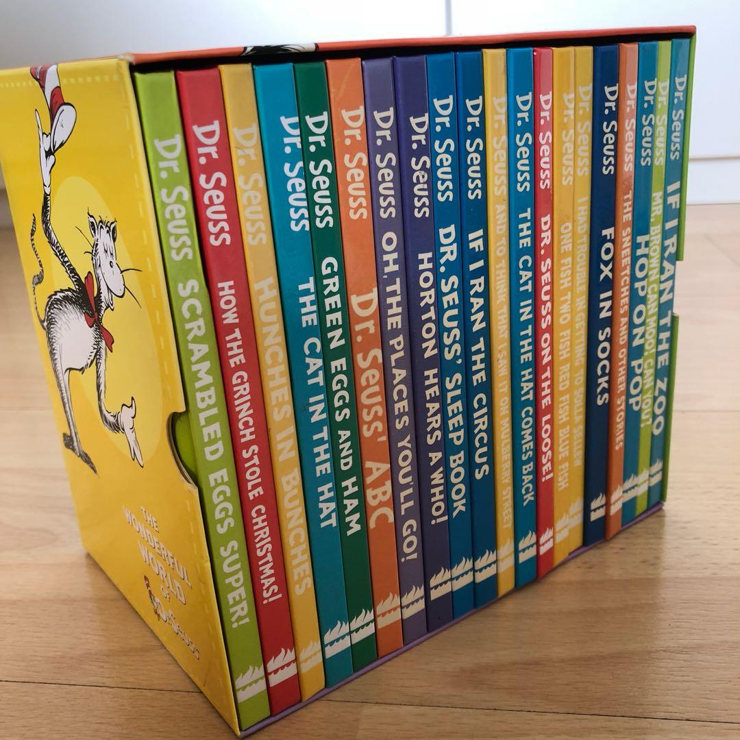 Dr Seuss Box Set (20 hardcover books, compact size), Books