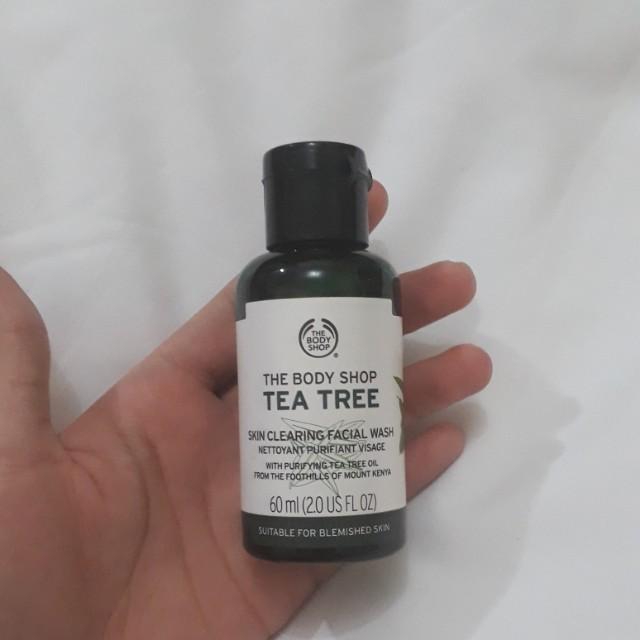 Facial Wash The Body Shop Tea Tree