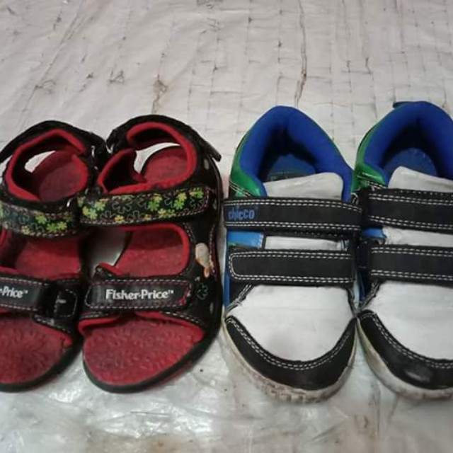Fisher Price and Chicco Shoes Bundle