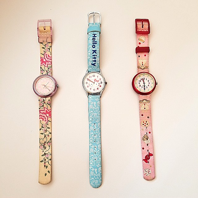 Flik Flak and Official Hello Kitty Kids' Watch