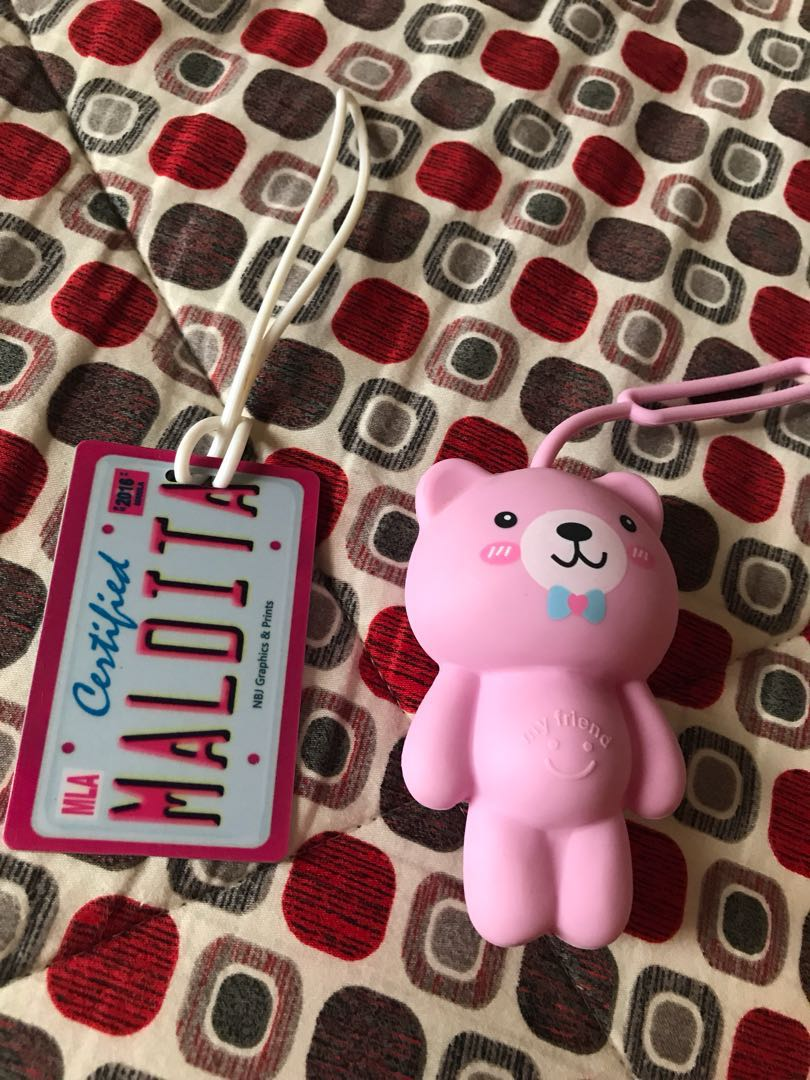 Freebies jelly bear charm