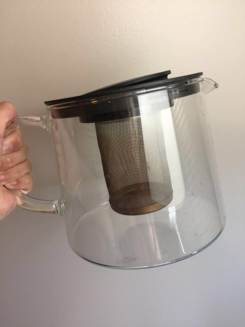 Glass tea pot (4pieces)