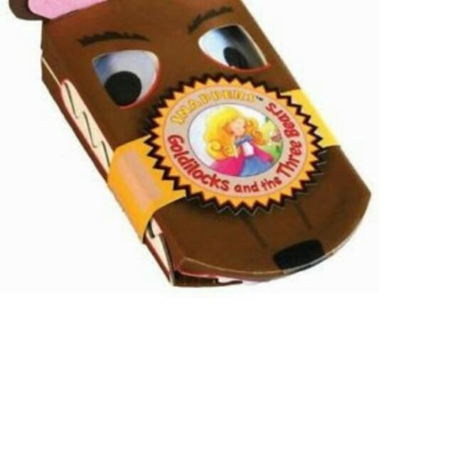 Goldilocks and the 3 Bears Board Book
