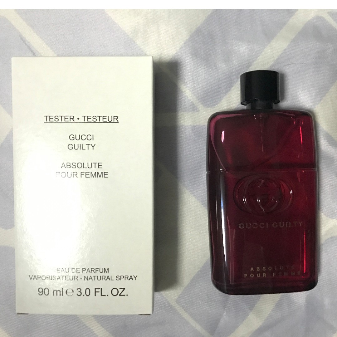 6a0dae2de3 Gucci Guilty Absolute Pour Femme EDP 90ml Tester, Health & Beauty, Hand &  Foot Care on Carousell