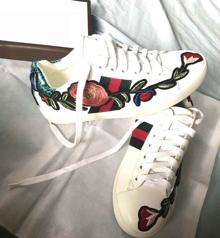 da6a79eaddd Gucci inspired - ACE EMBROIDERED LOW TOP SNEAKER