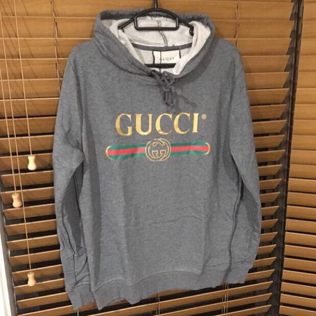 GUCCI 'washed' hoodie