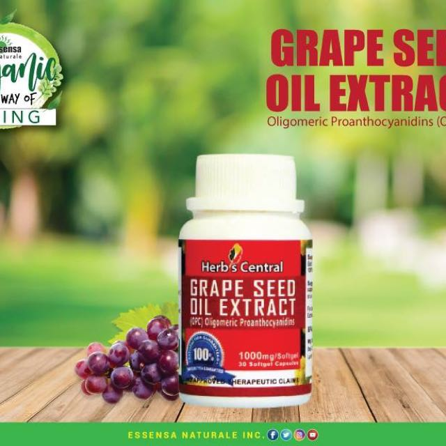 Herbs Central Grapeseed Oil Extract
