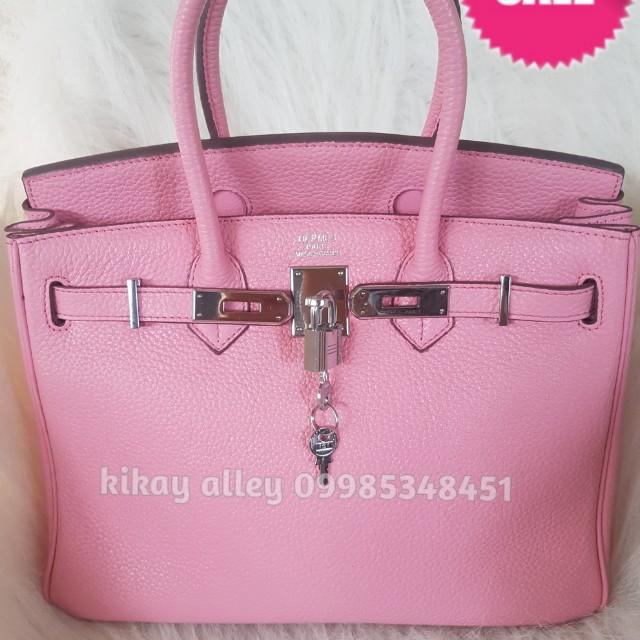 Hermes Birkin 30 Togo in Baby Pink