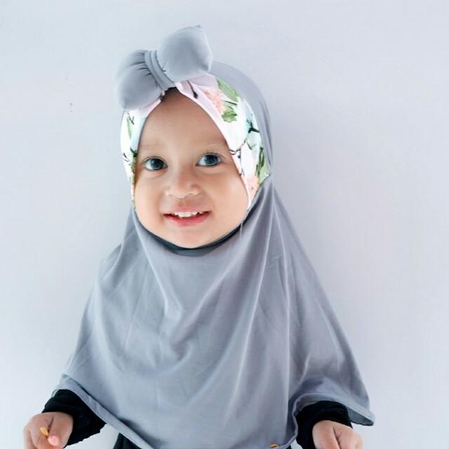 hijab kerudung bow pita