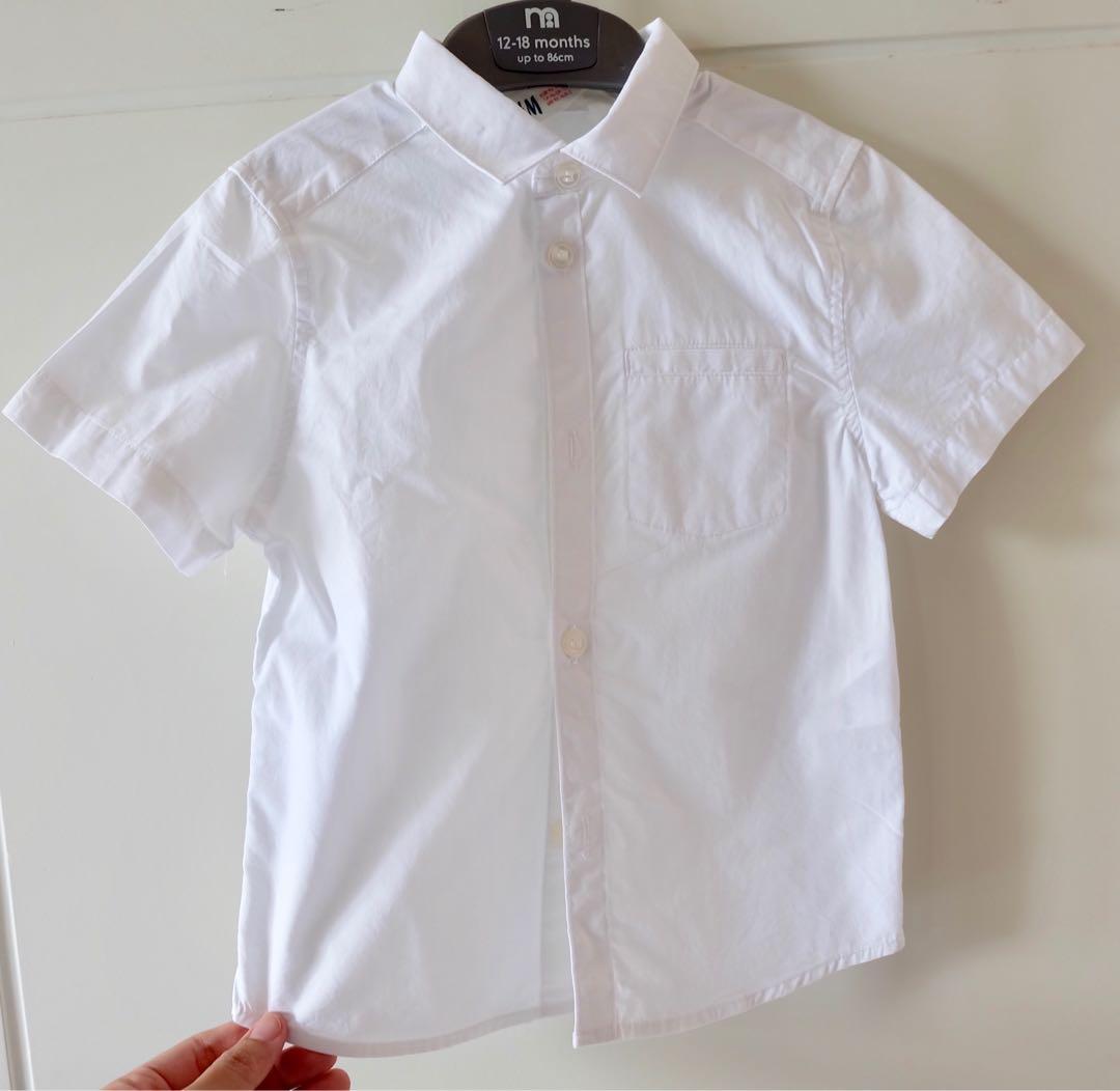 H&M shirt size 92 (1.5 thn - 2 thn)