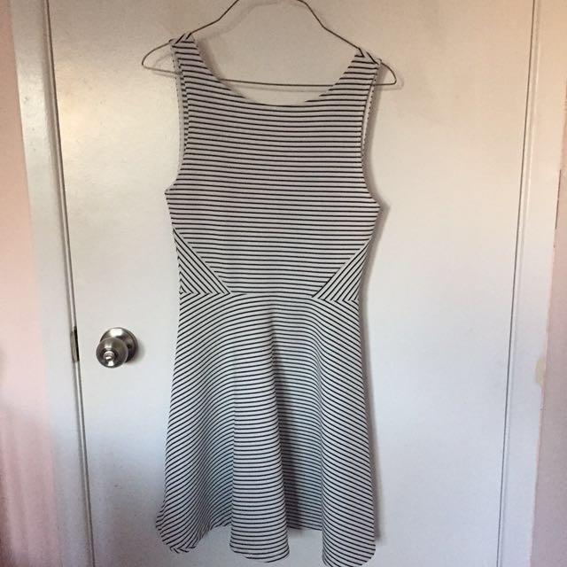 H&M strips dress