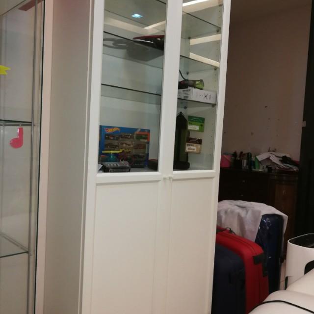 Ikea Billy Oxberg Glass Door Glass Door Ideas