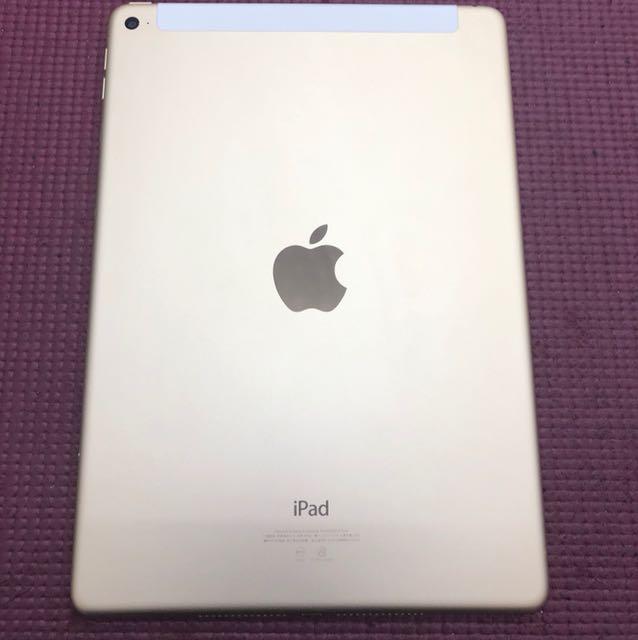 iPad Air 2 64g LTE版 金 9.5成新