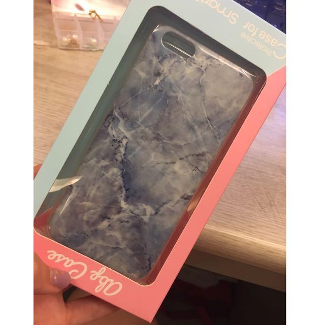 Iphone 6s手機殼 大理石