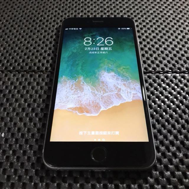 iPhone 6s plus 16g 太空灰5.5吋 台積電版 不議價