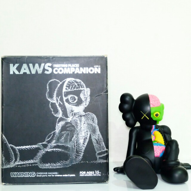 "2PCS Kaws Original Fake Astro Boy Mono Companion Medicom Toy Figure 14.5/"" 37cm"