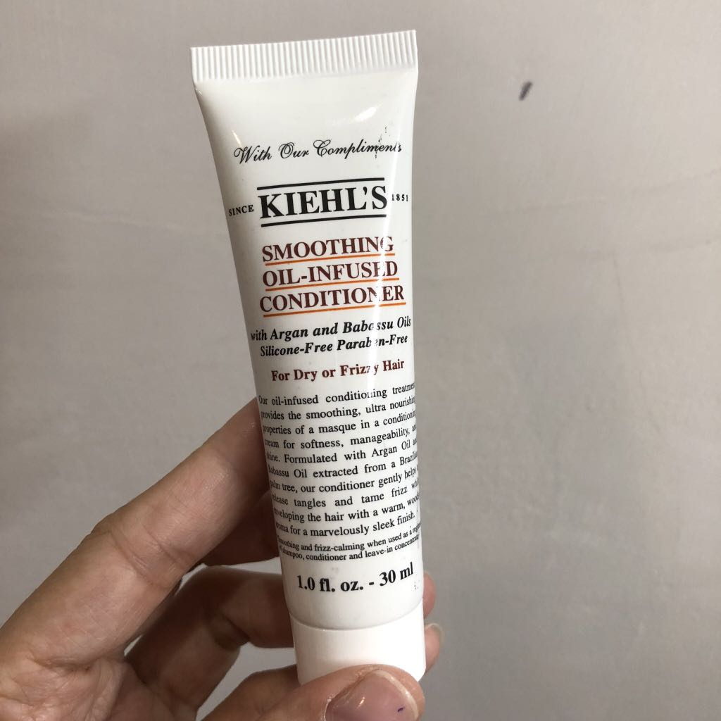 Kiehl's Smoothing Oil-Infused Conditioner 30 ml