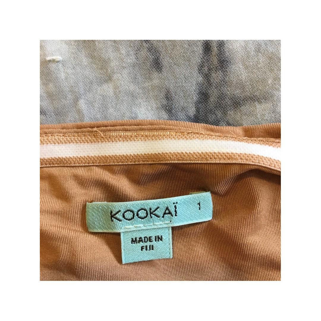 e8547dad39 Kookai Sophia Bralette Top in Tan Nude Size 1