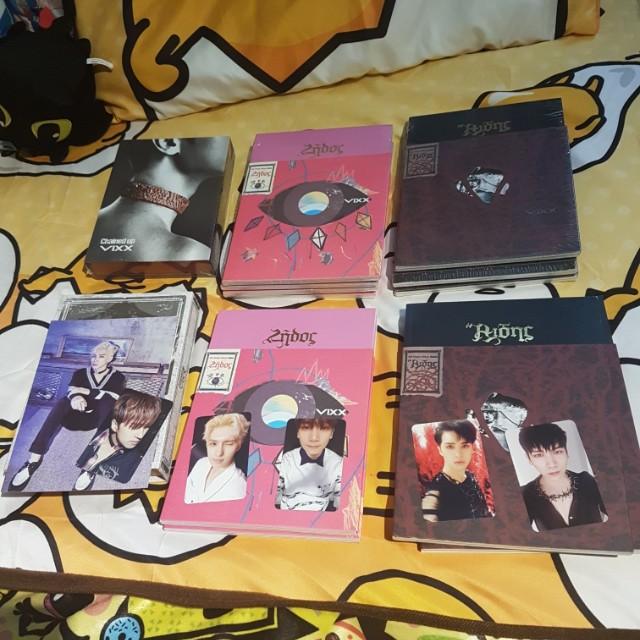 Kpop Albums, Big bang , Infinite , vixx