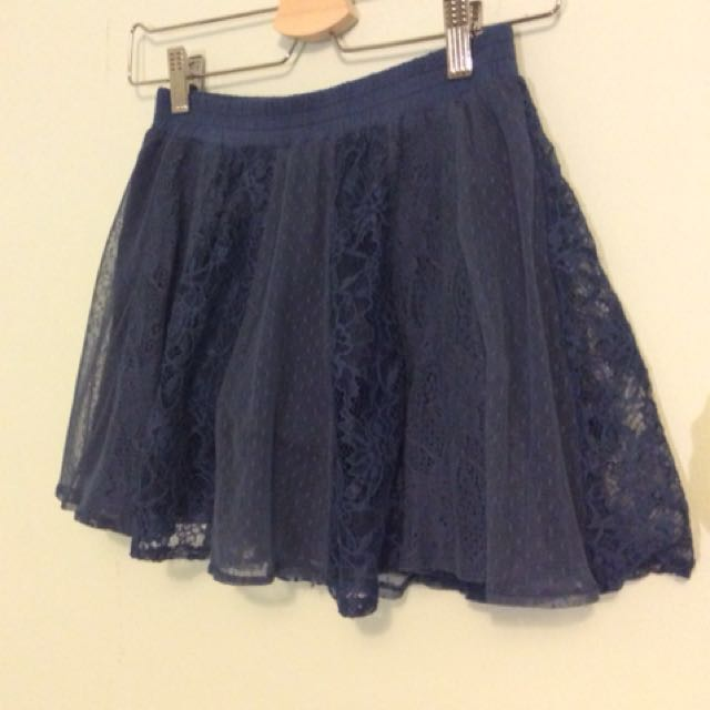 Lace skirt markdown!