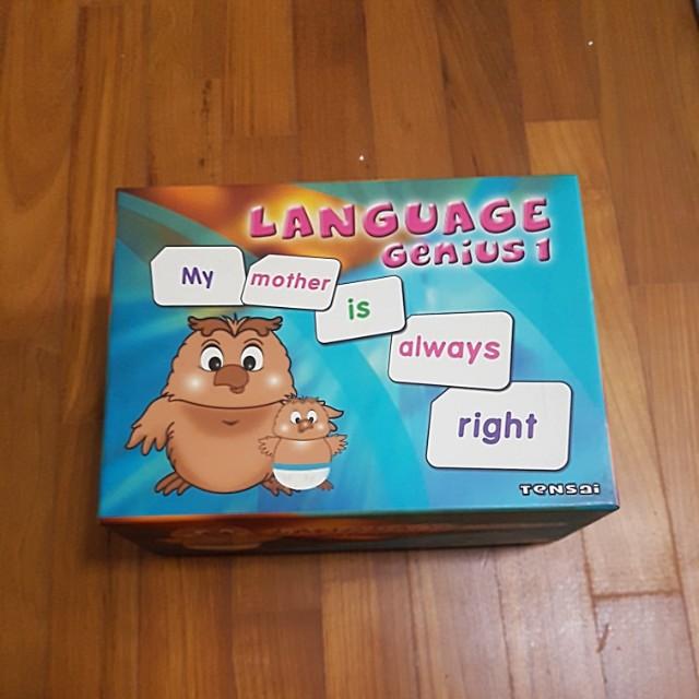 Language genius by Shichida