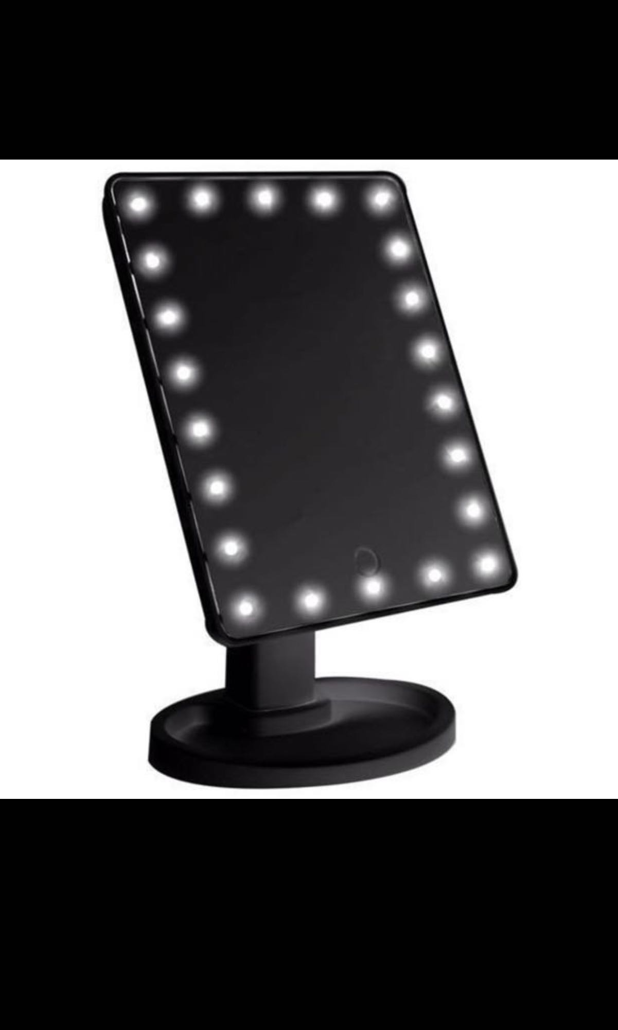 LED MIRROR READY BLACK AND WHITE