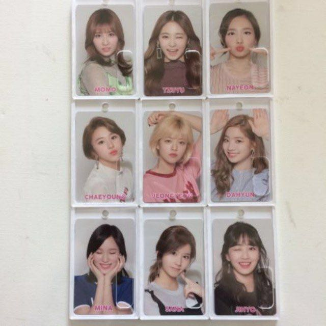 Limited edition* Twice Japan Release Event Ic Id Card Case