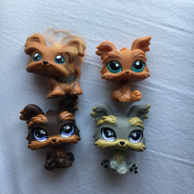 Littlest Pet Shoplps Yorkie Dogs Toys Games Bricks Figurines