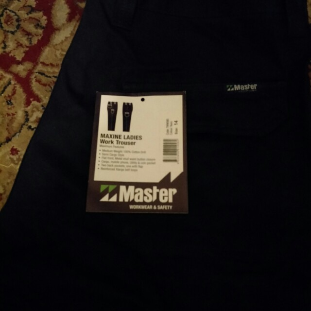 Master work wear - Maxine women's work pants
