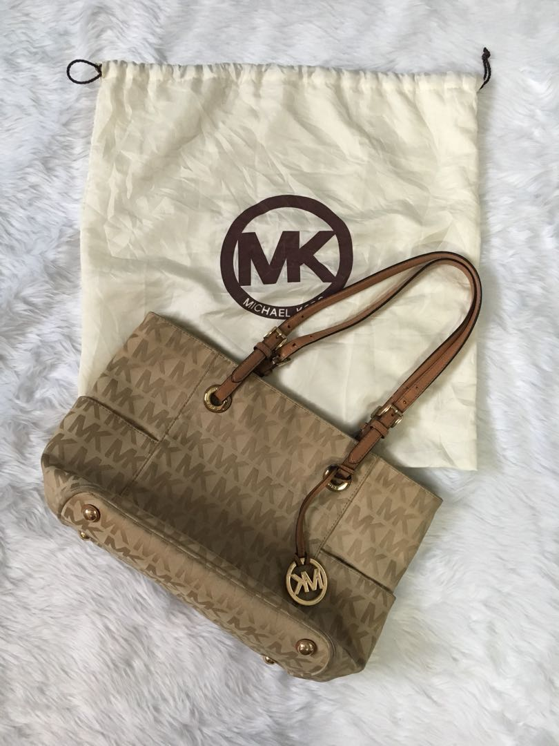 Michael Kors canvass tote
