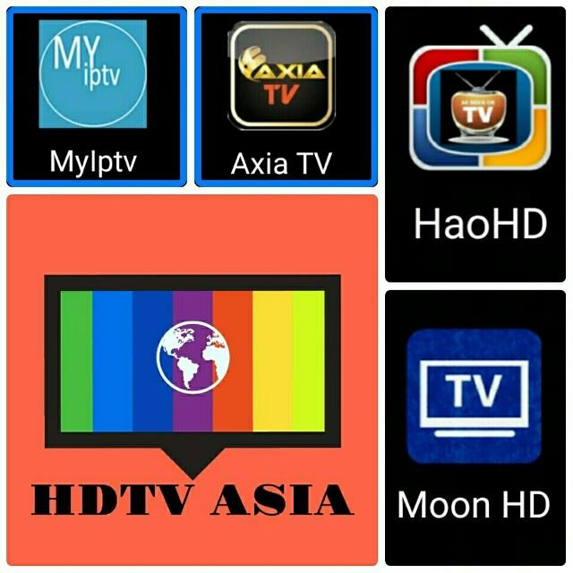 Myiptv, Haohd, Axiatv apk IPTV Installer