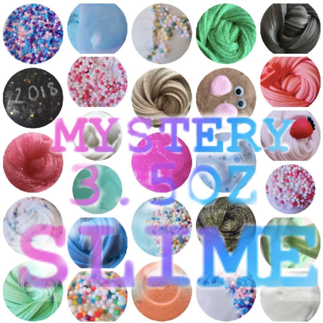 MYSTERY 3.5OZ SLIME / MYSTERY SLIME GRAB BAG